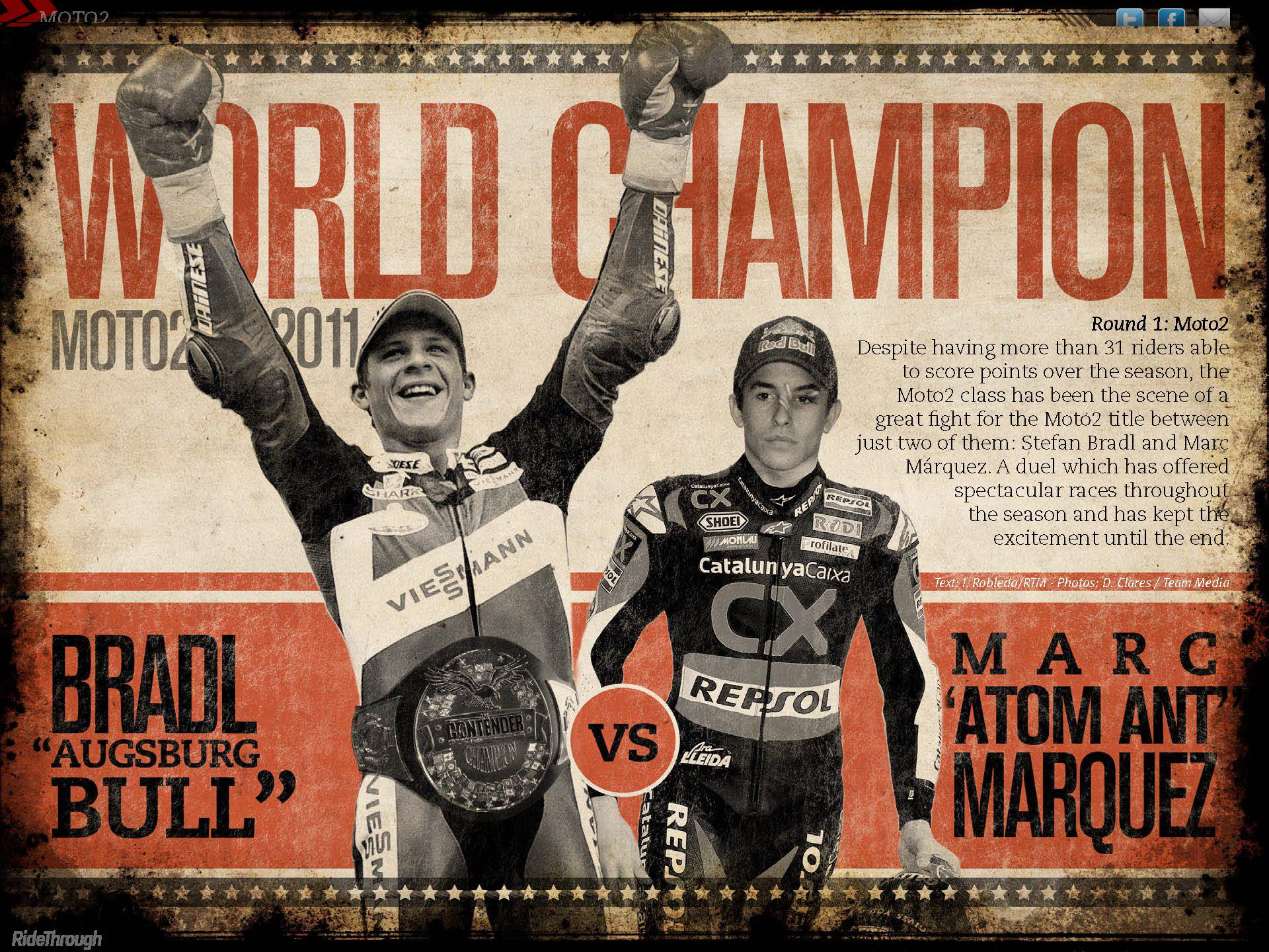 Photograph Moto2 World Champion - Round 1 by Ride Through Mag on 500px