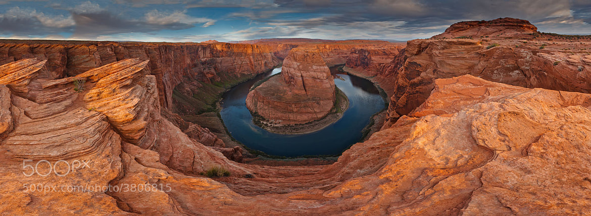 Photograph Horseshoe Sunrise by Gleb Tarro on 500px