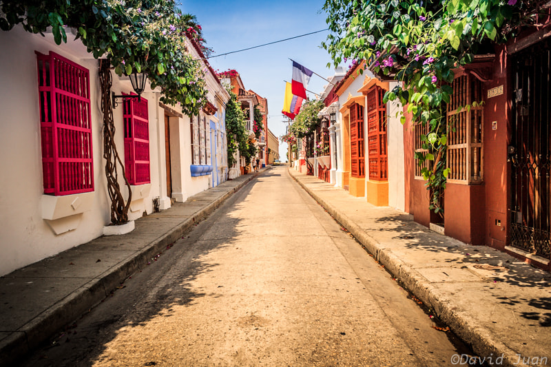 Photograph Colorful street by David Juan on 500px
