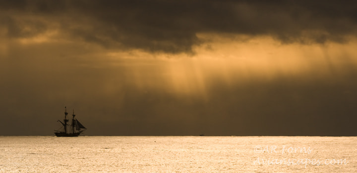 Photograph Tall ship into the storm by Alfred Forns on 500px