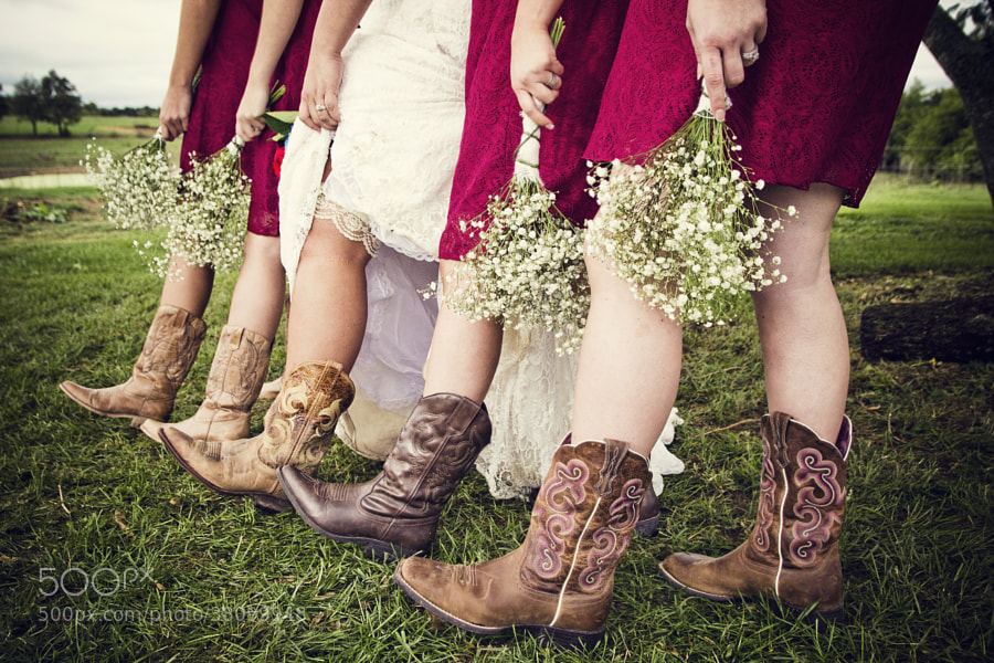 Photograph Dresses, Boots, and Flowers by Kent Frost on 500px