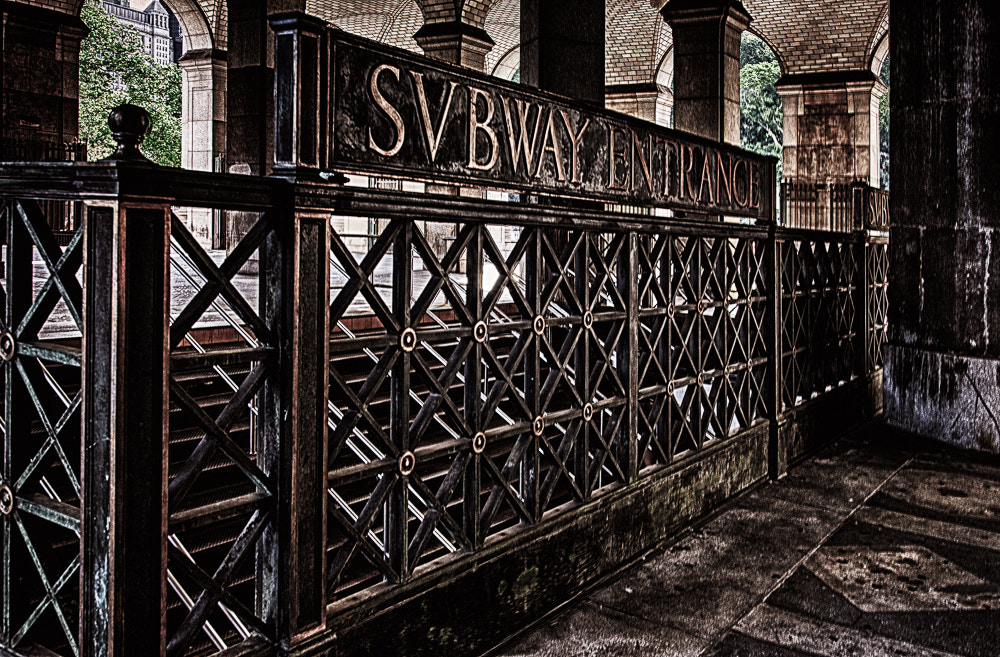 Photograph SVBWAY ENTRANCE by Paul Bartell on 500px