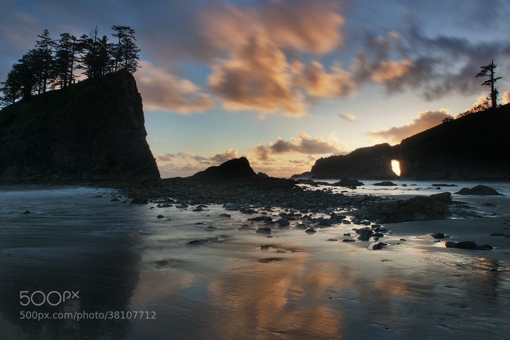 Photograph Second Beach at Dusk by Michael Wewer on 500px