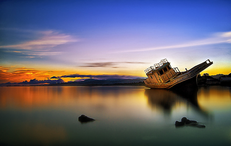 Photograph The Broken Ship by Haslam Hasyikin on 500px