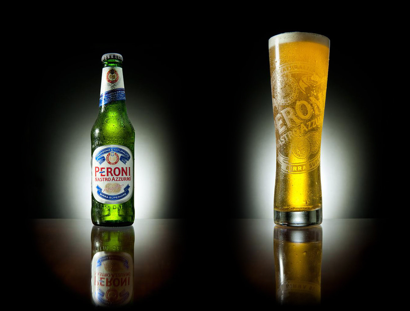 Photograph Peroni Nastro Azzurro by Lee Ramsden on 500px
