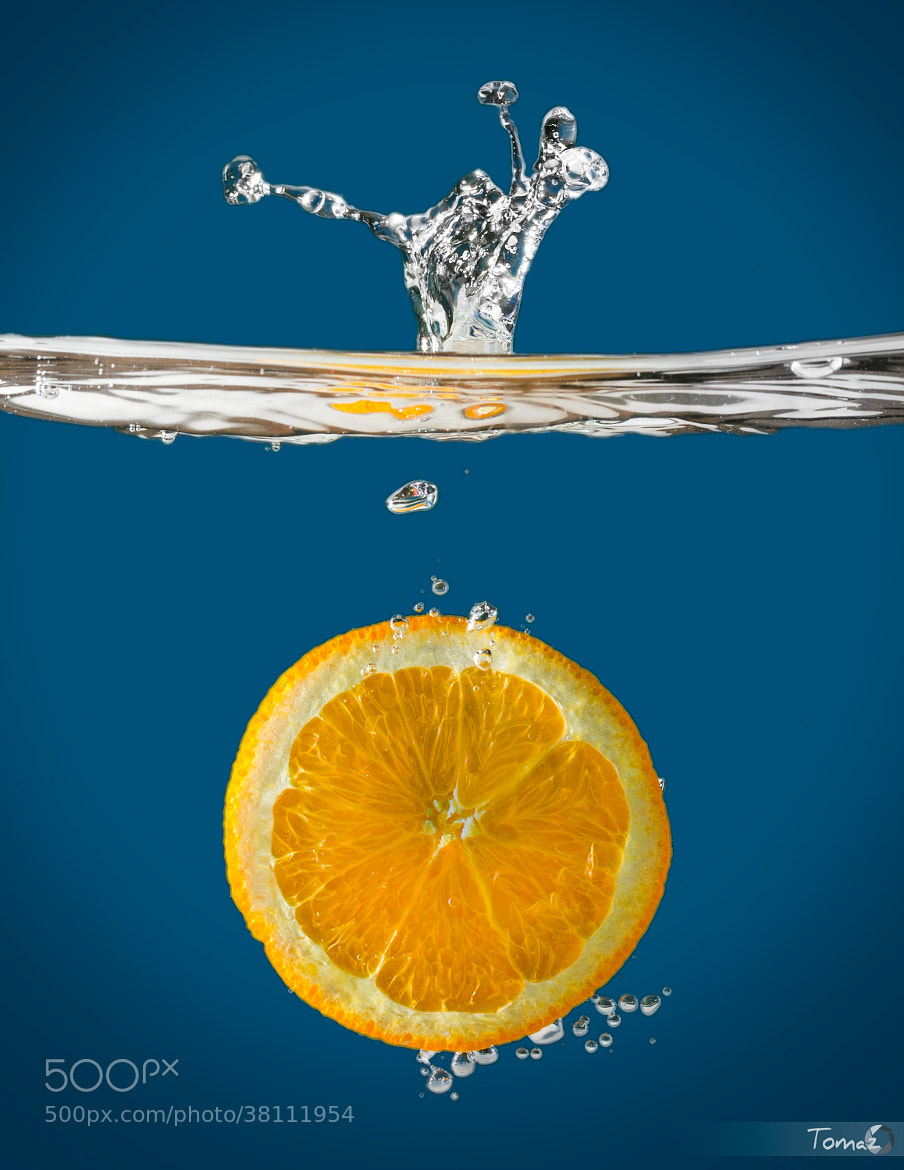 Photograph OranGe Drop by Tomaž Klemenšak on 500px