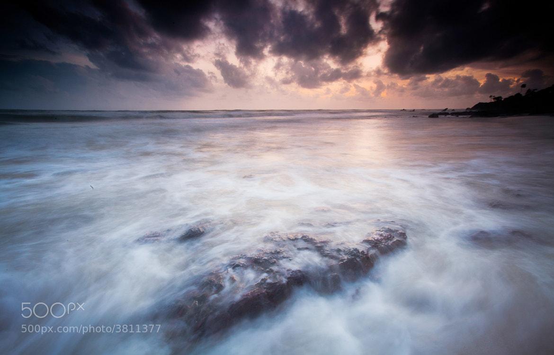Photograph Sunrise Tj Sedili by Amizan Amran on 500px