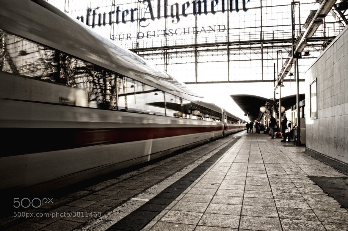 Photograph Leaving The Station by Ken Shelton on 500px