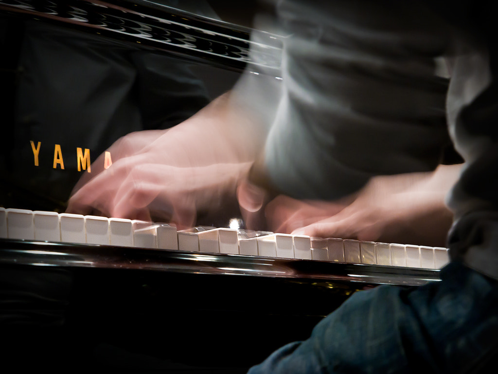 Photograph Crazy hands on piano by luca giuliani on 500px