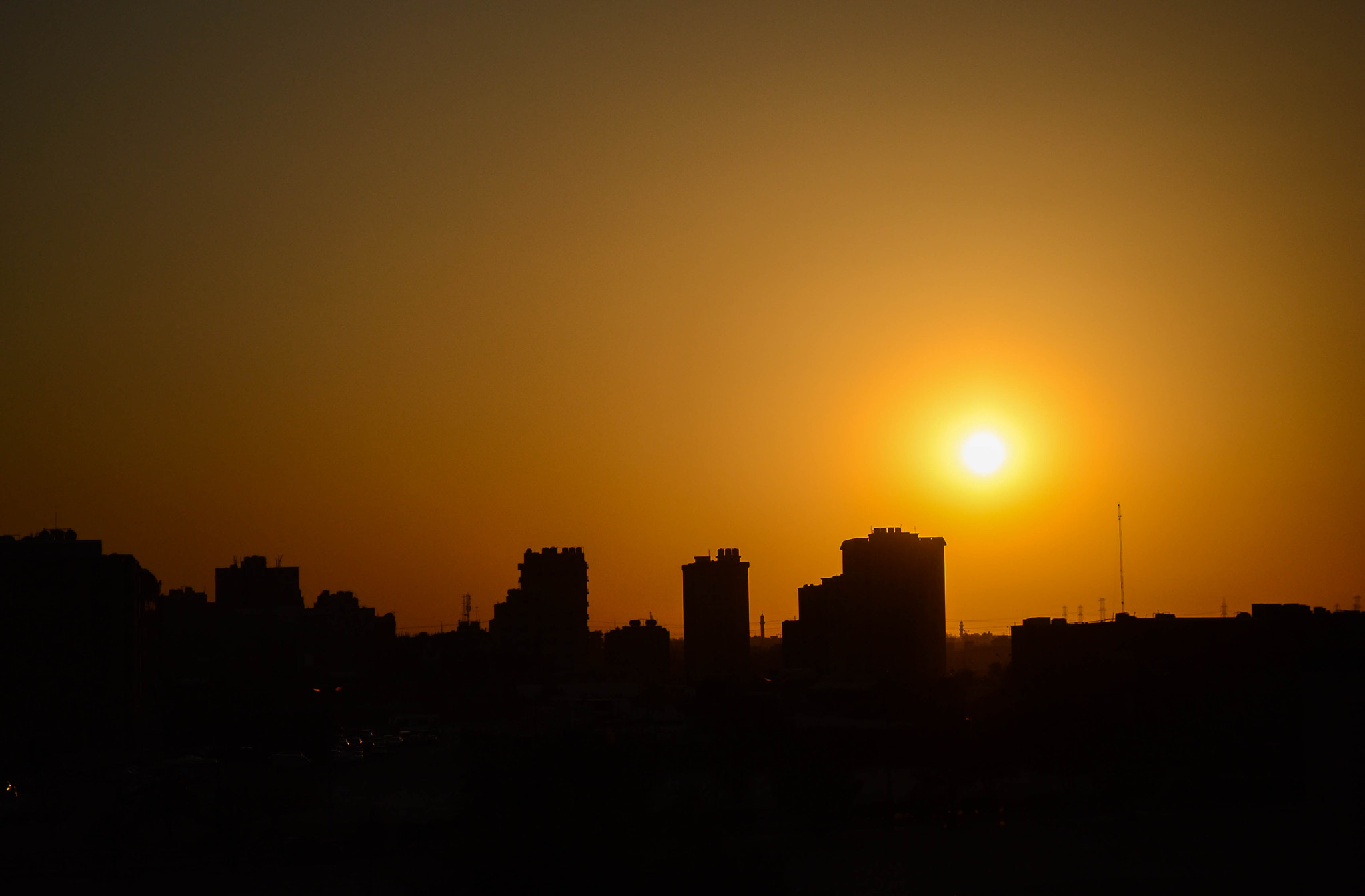 Photograph Silhouette - At Mangaf by Naveen Edakkat on 500px