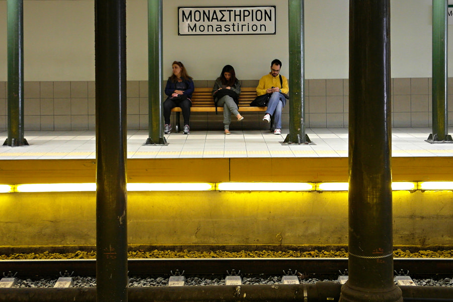 Photograph At the station by Stamatis Gr on 500px