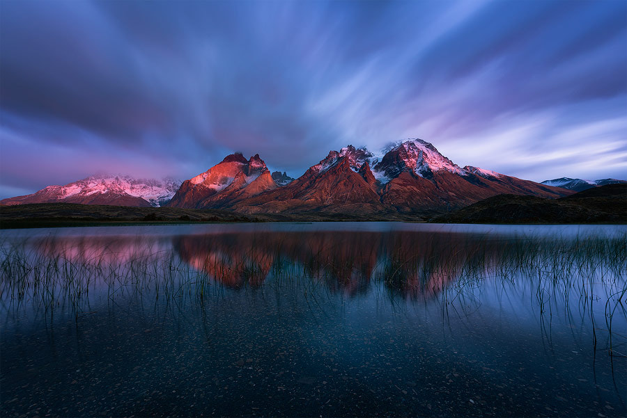 Photograph Andean Alpenglow by Hougaard Malan on 500px