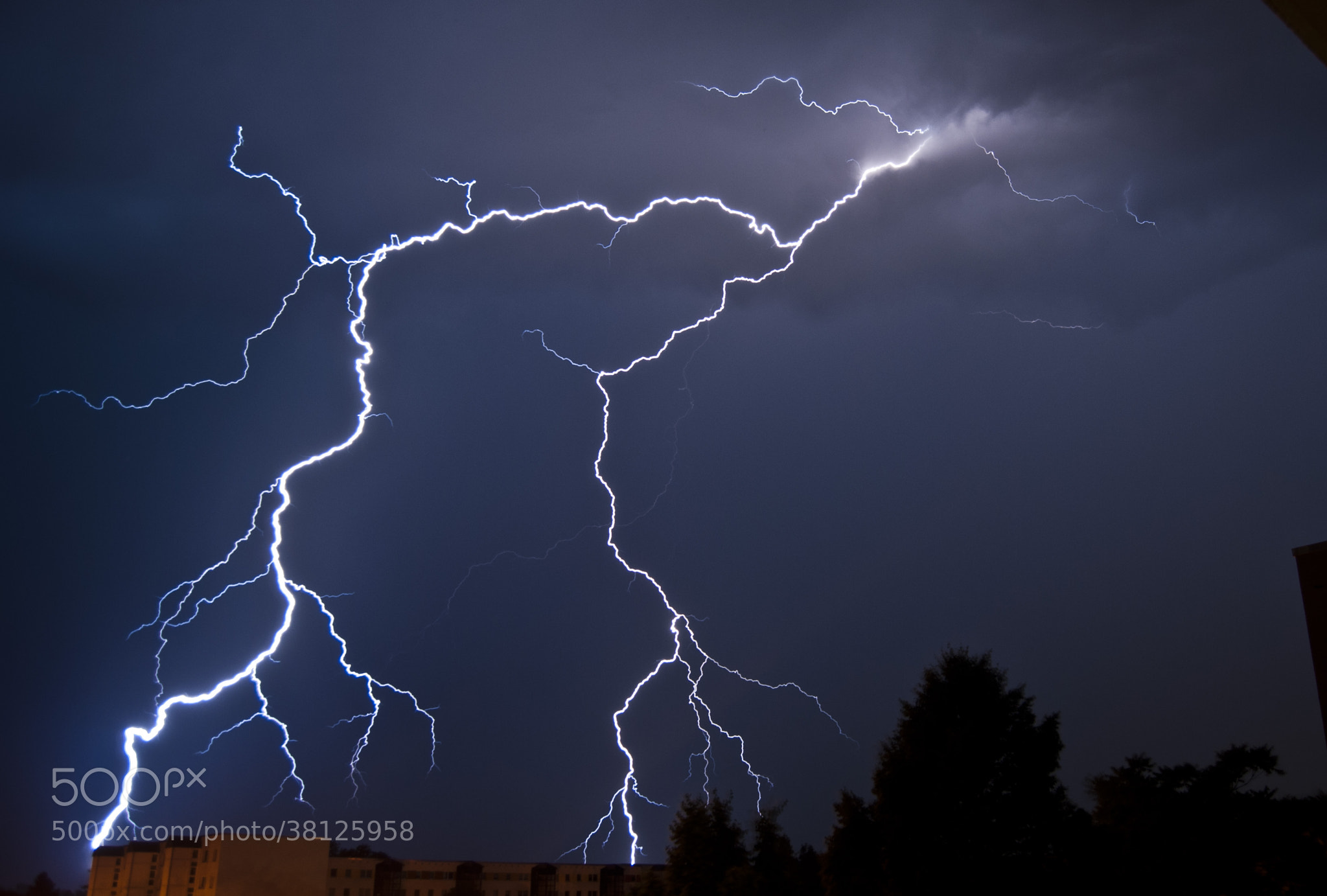 Photograph Thunderstorm by Javier R. R. on 500px