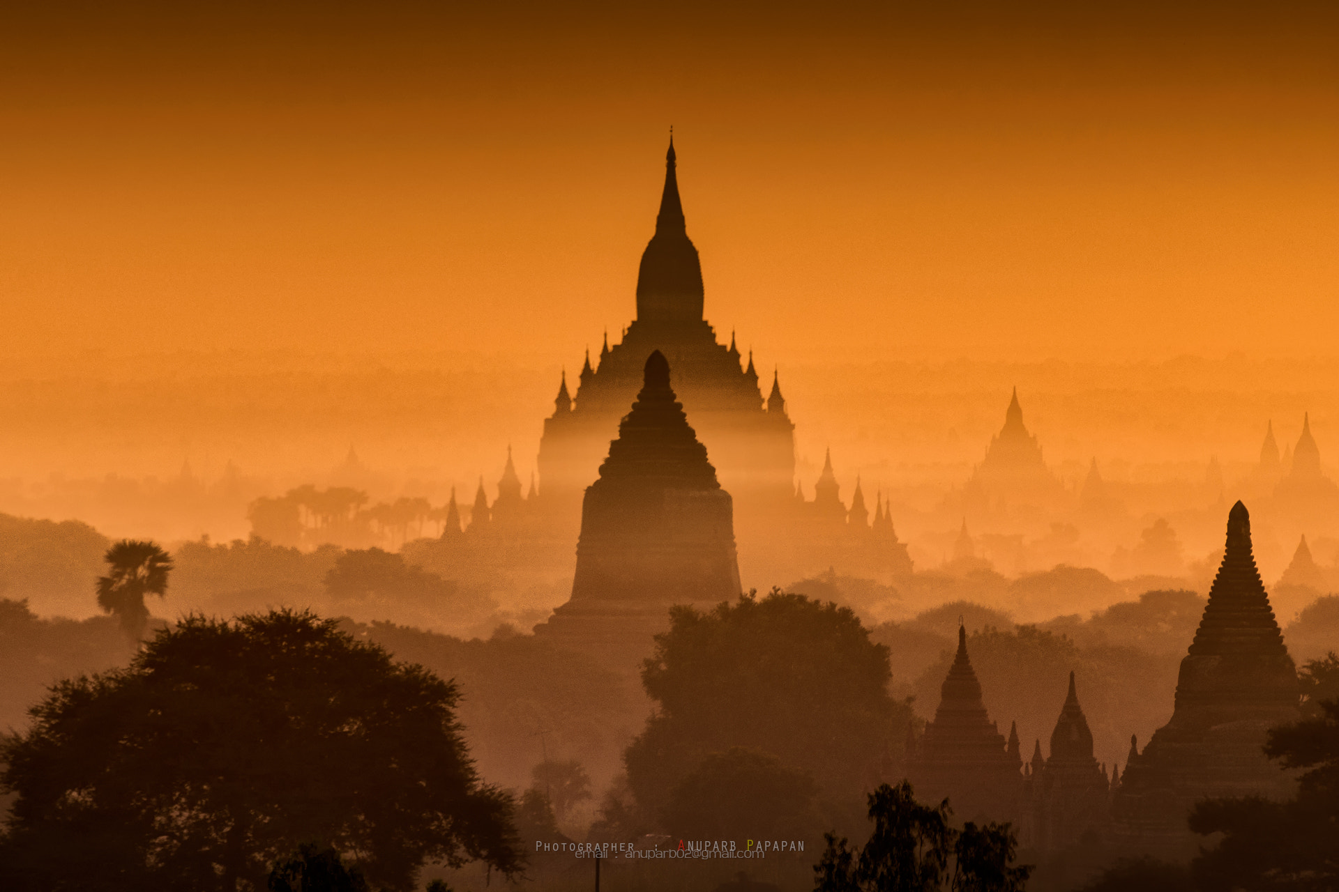 Photograph Light on Bagan by Anuparb Papapan on 500px