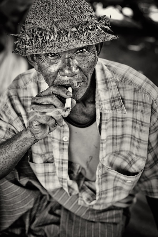 Photograph Old Smoker by Mikhail Panfilov on 500px