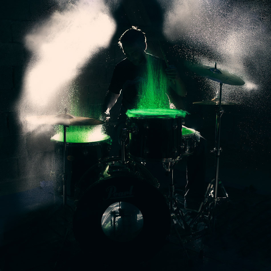Photograph The drummer II by Christopher Wesser on 500px