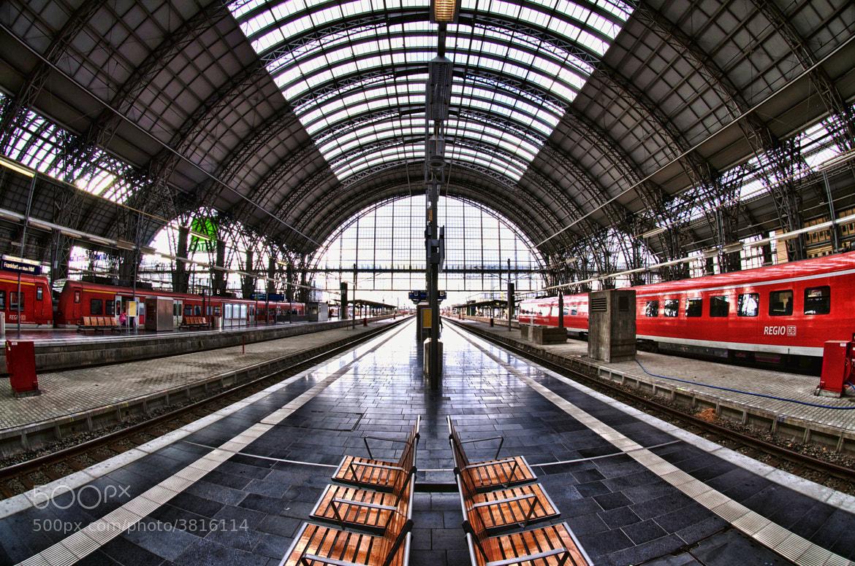 Photograph Frankfurt Hauptbahnhof by Ken Shelton on 500px