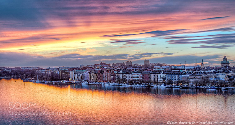 Photograph A golden hour by Örjan Gustavsson on 500px