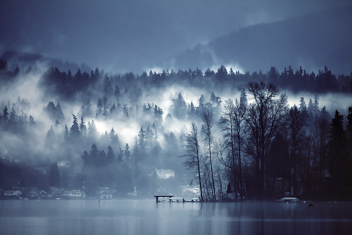 Photograph Looking south on the lake by Sparth (Nicolas Bouvier) on 500px