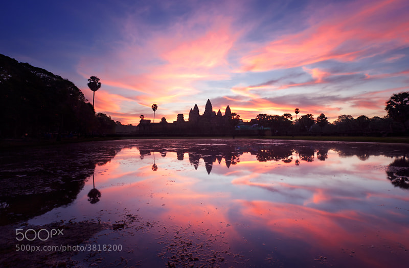 Photograph Sunrise at Angkor Wat by Sonia Blanco on 500px