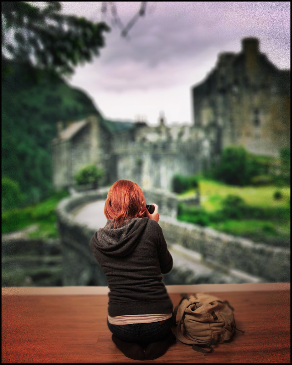 Photograph A Girl Can Dream (of Castles in Scotland) by JB Nuska on 500px