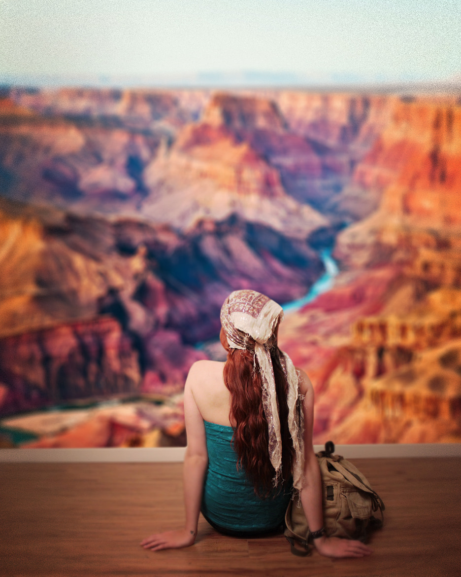 Photograph A Girl Can Dream (of The Grand Canyon) by JB Nuska on 500px