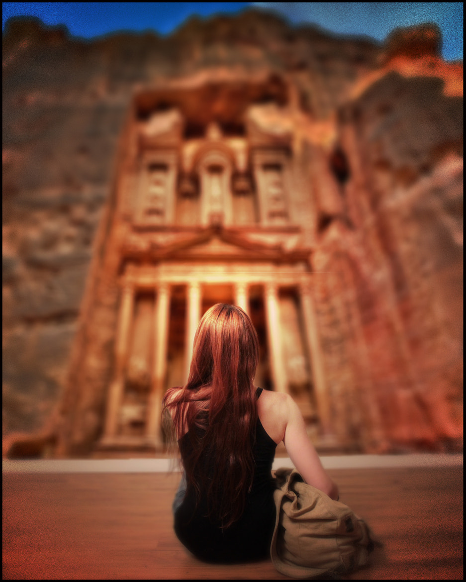 Photograph A Girl Can Dream (of Petra) by JB Nuska on 500px