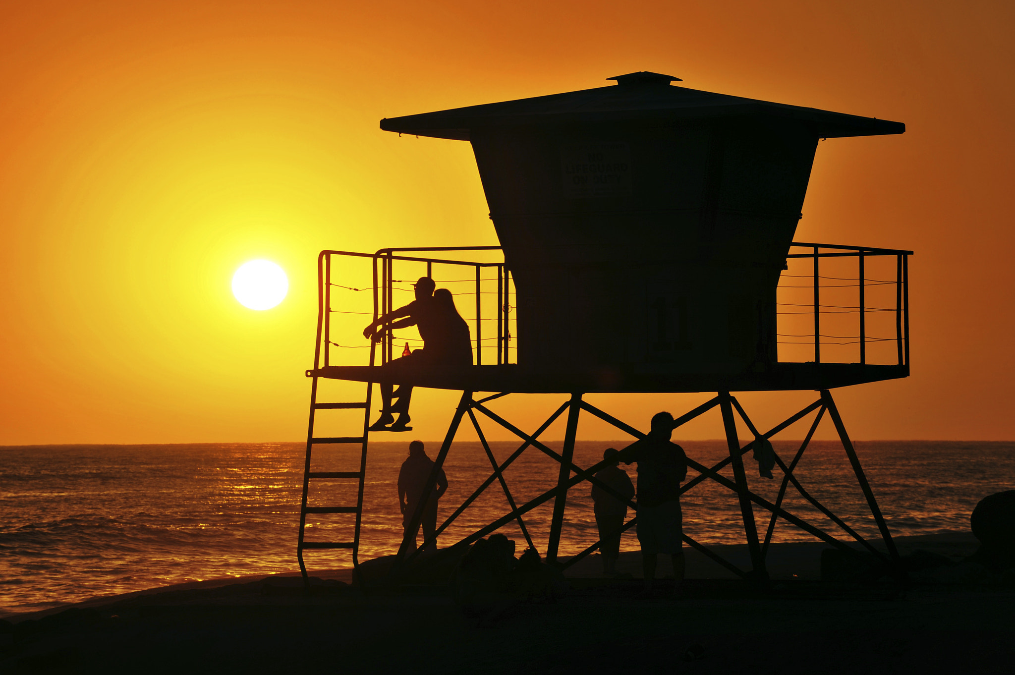 Photograph Sunset in Oceanside - June 20, 2013 by Rich Cruse on 500px