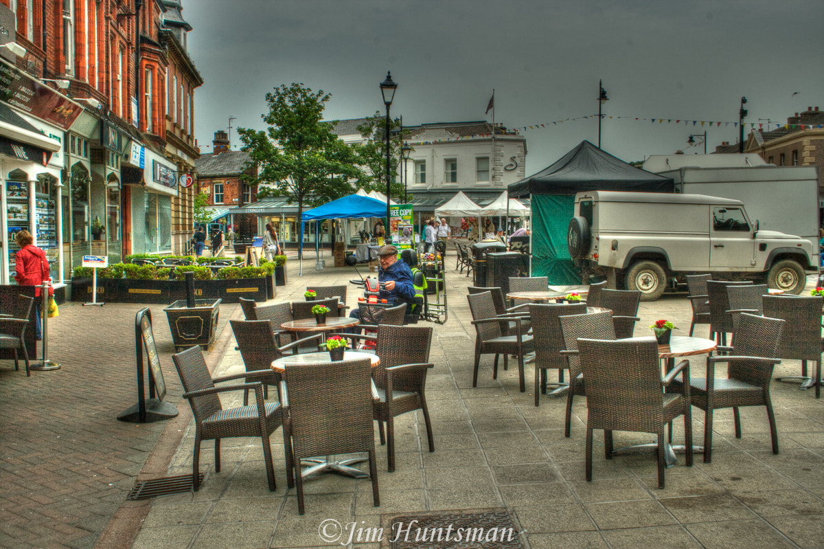Photograph outside tables by jim Huntsman on 500px