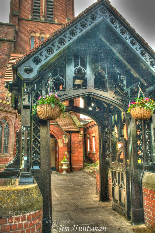 Photograph gates of church by jim Huntsman on 500px