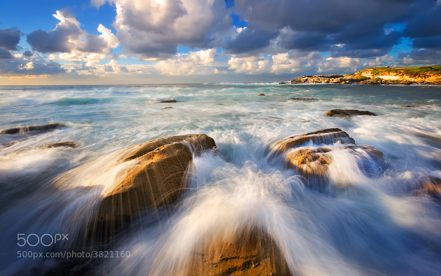 Photograph Movement of da sea by MONSTERMICKY ! on 500px
