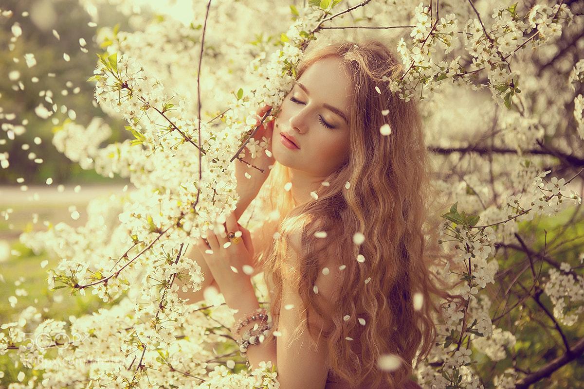 Photograph spring fairy by Katia Titova on 500px