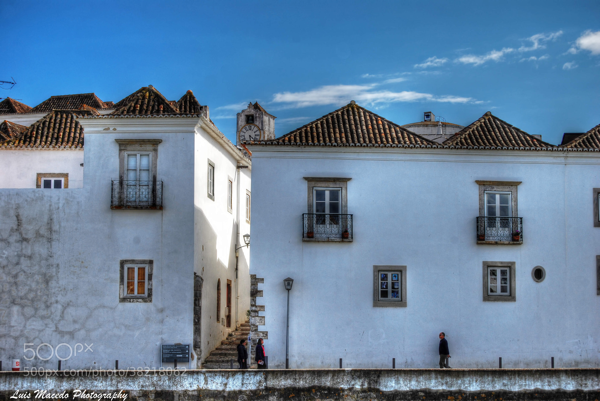 Photograph Tavira His Roofs and the White by Luis Pereira on 500px