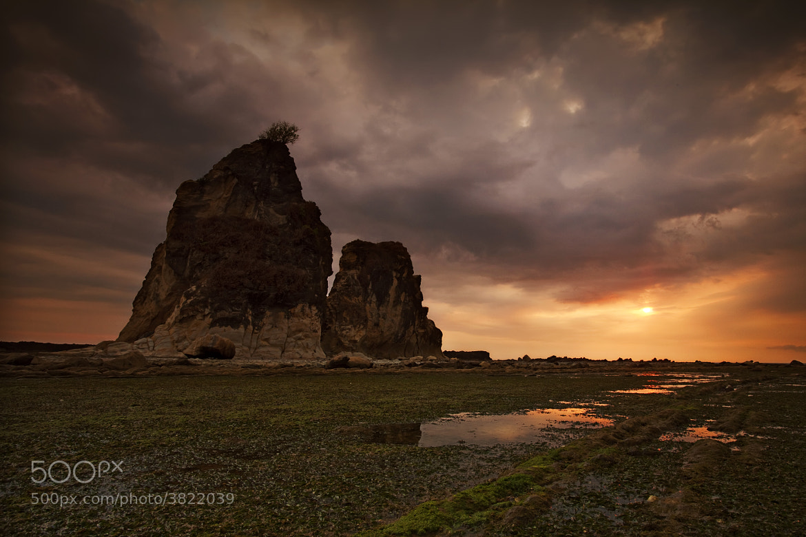 Photograph Two Rocks by Rollando  Roeslan on 500px