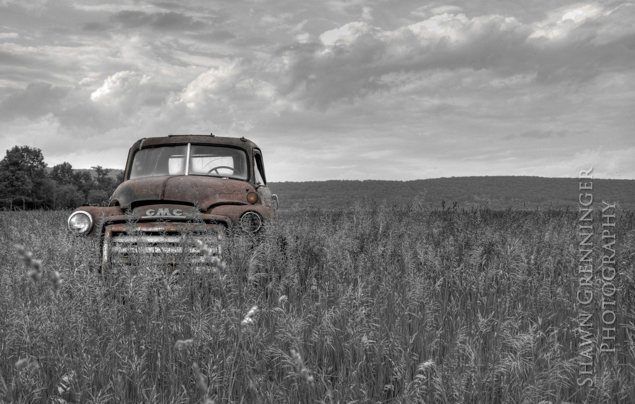 Photograph Rusty GMC by Shawn Grenninger on 500px