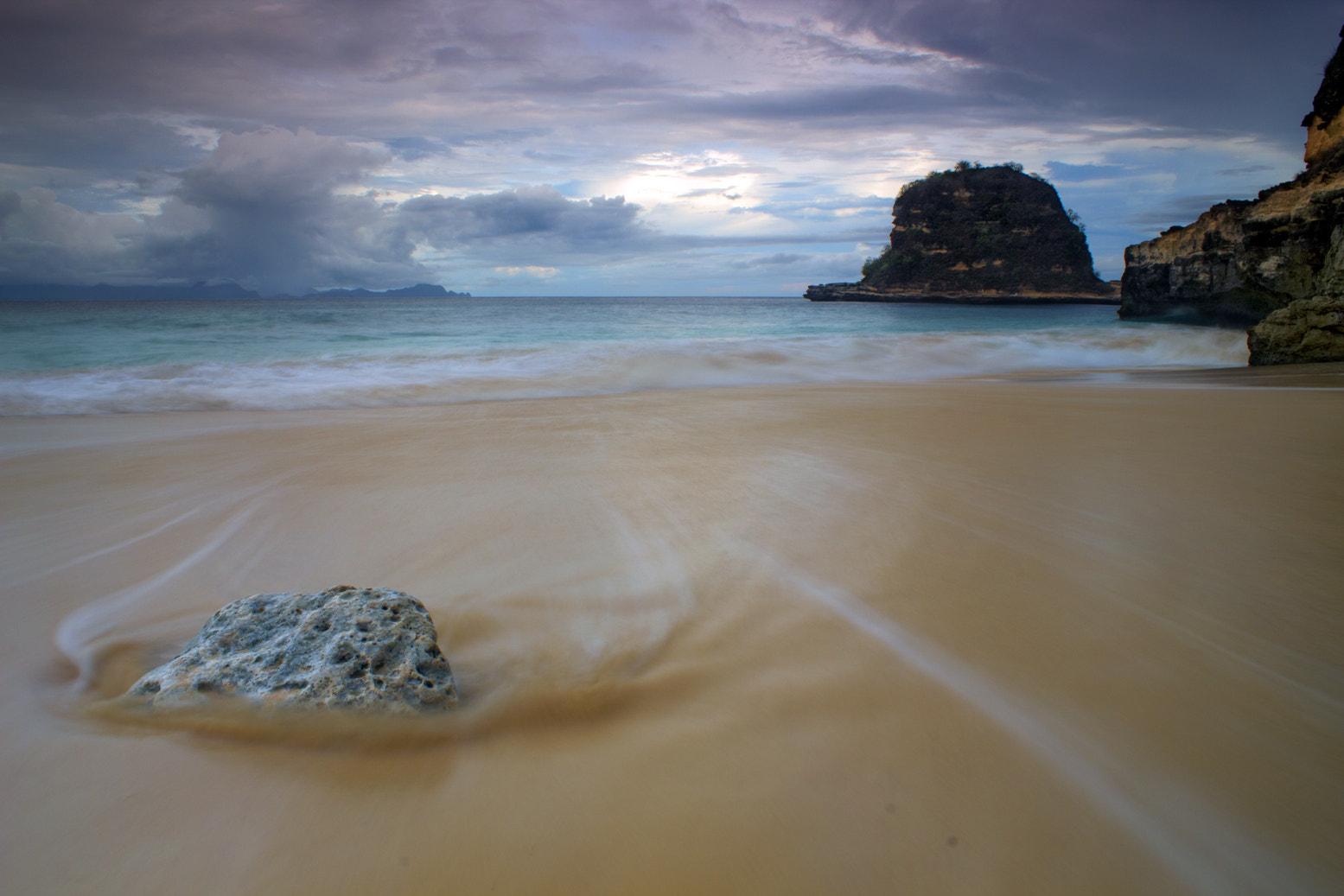 Photograph Rocks and Waves by Eep Ependi on 500px