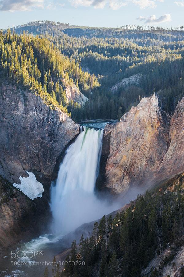 Yellowstone Falls by Joshua Davis Photography