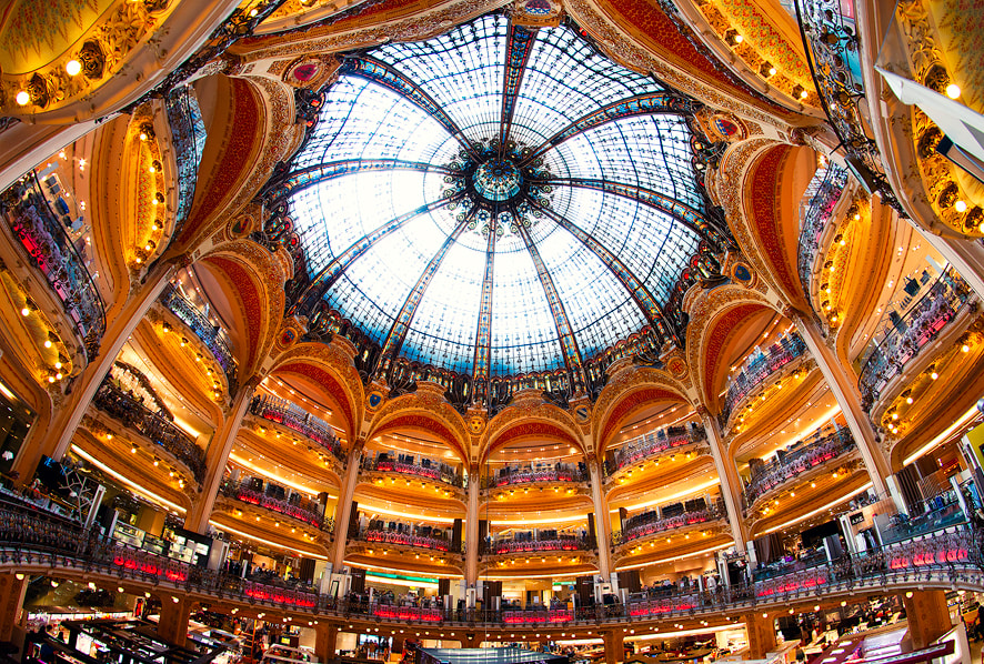 Photograph Galeries Lafayette by Kajo Photography on 500px