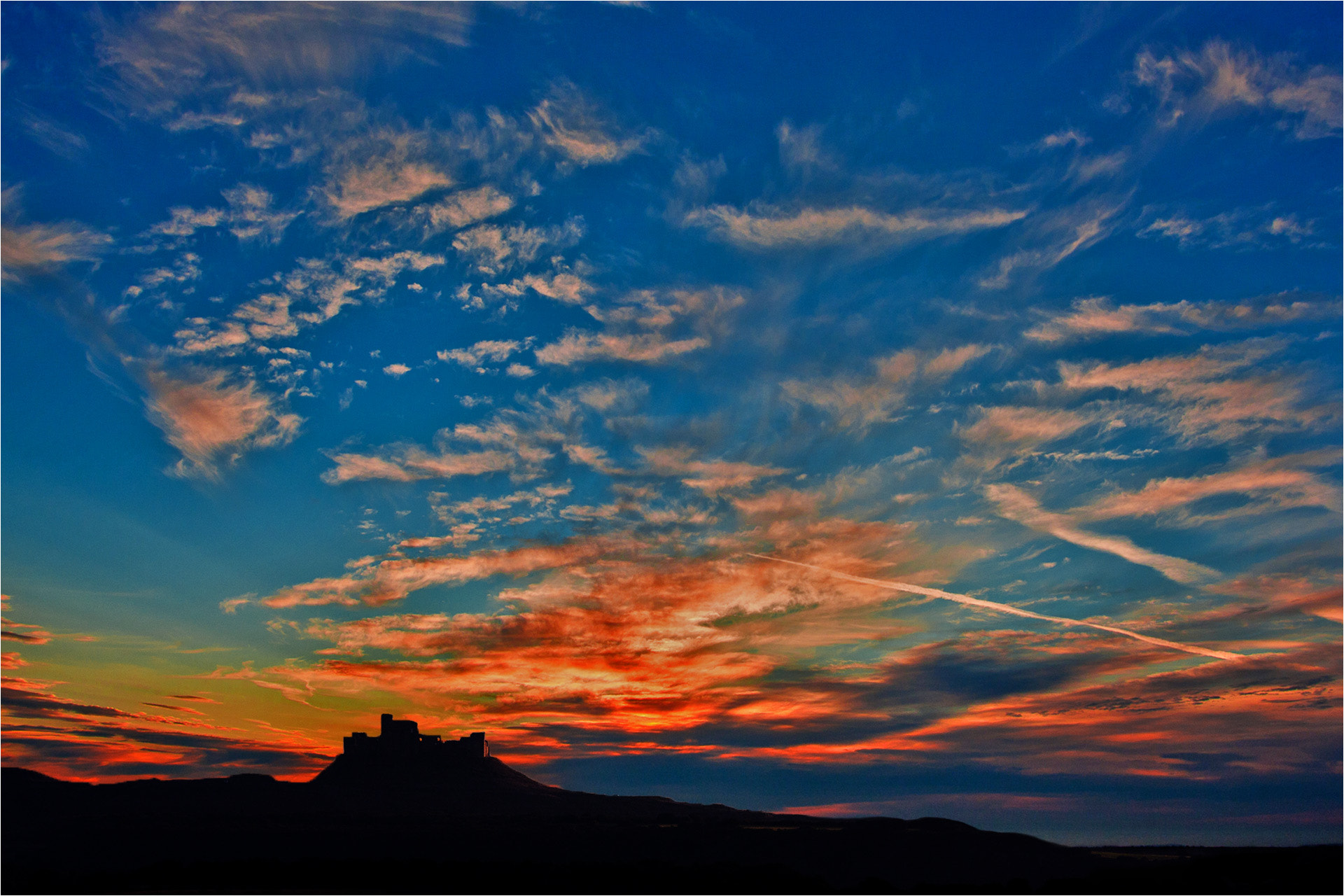 Photograph Montearagón Ocaso (Huesca) by Ferran Cartagena  on 500px