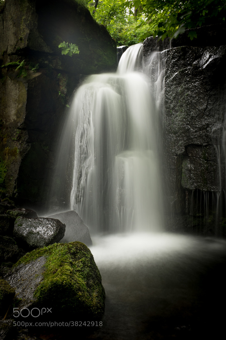 Photograph Waterfall in Lumsdale by David Guyler on 500px