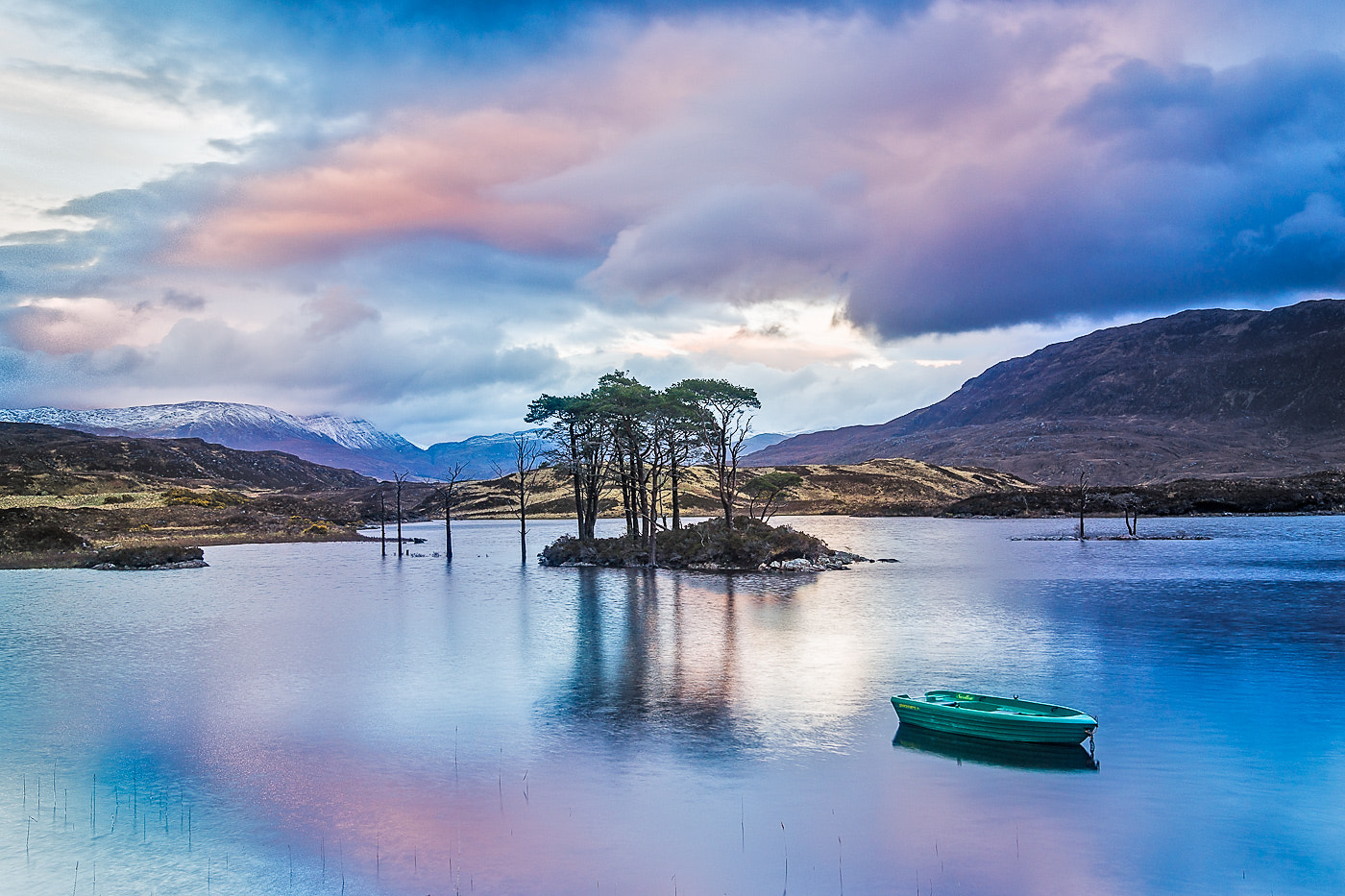 Photograph Loch Assynt Sunset by Maciej Markiewicz on 500px