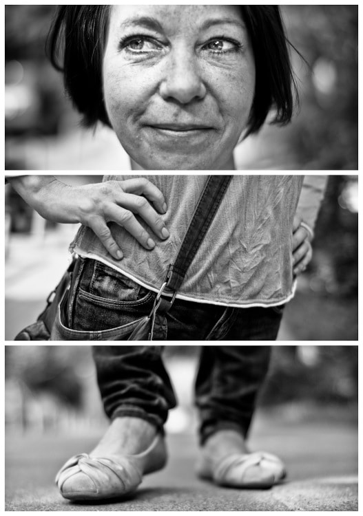 Photograph Triptychs of Strangers #17, The Cautious Doubter - Hamburg by Adde Adesokan on 500px
