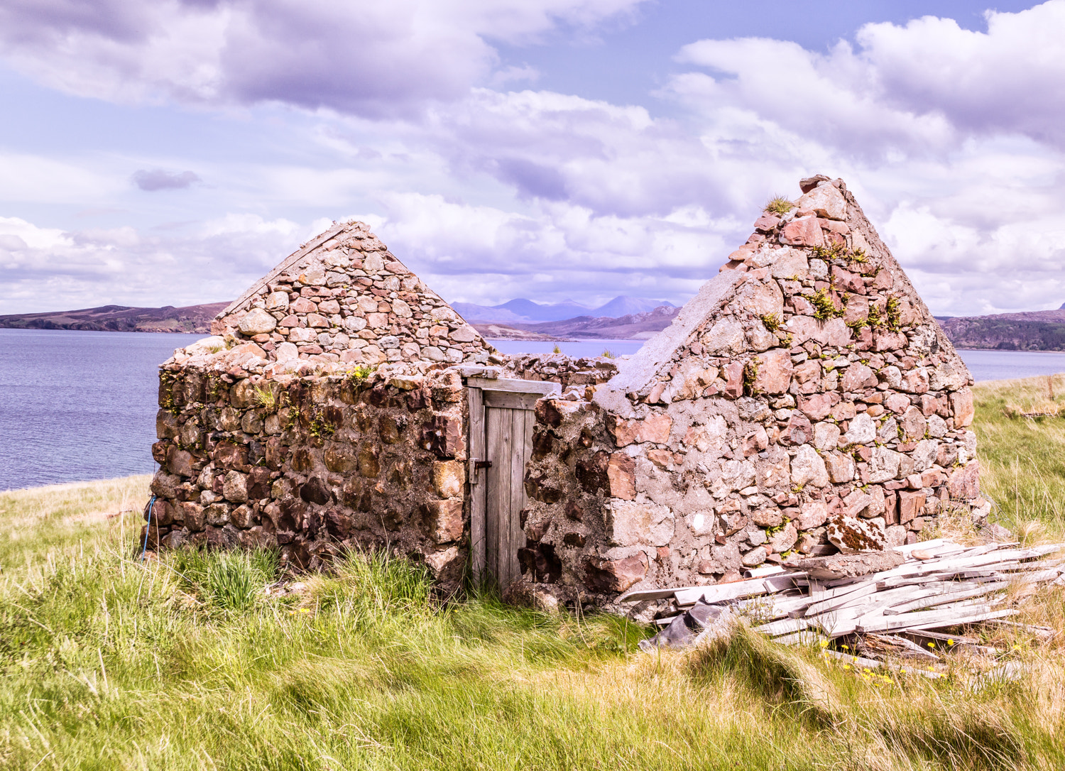 Photograph Old Bothy - Gruinard Bay by RALPH  on 500px