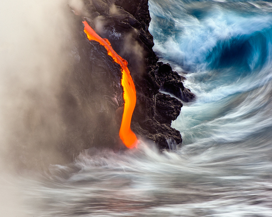 Photograph Surfing Lava by Andrew J. Lee on 500px