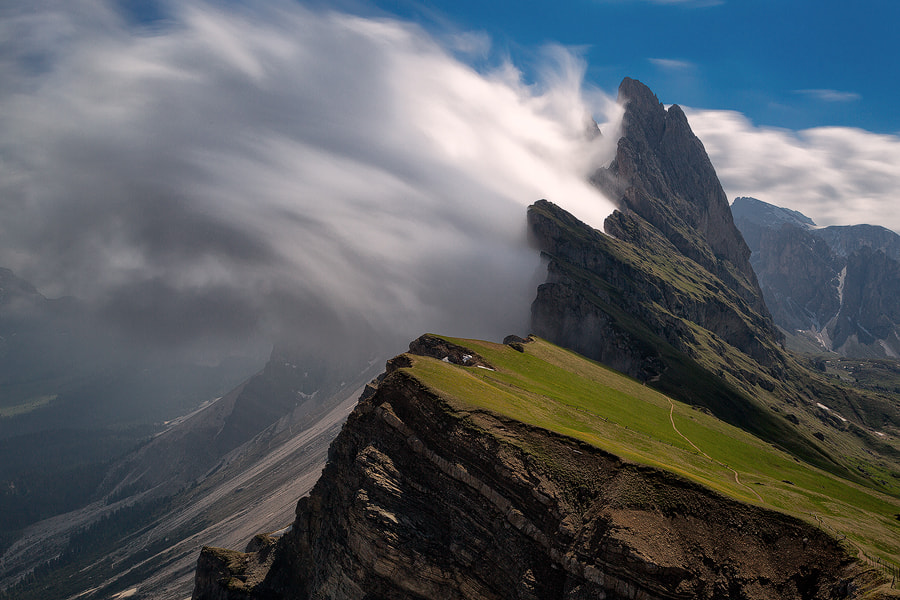"Photograph ""Dolomite Wave"" by Jim Nilsen on 500px"