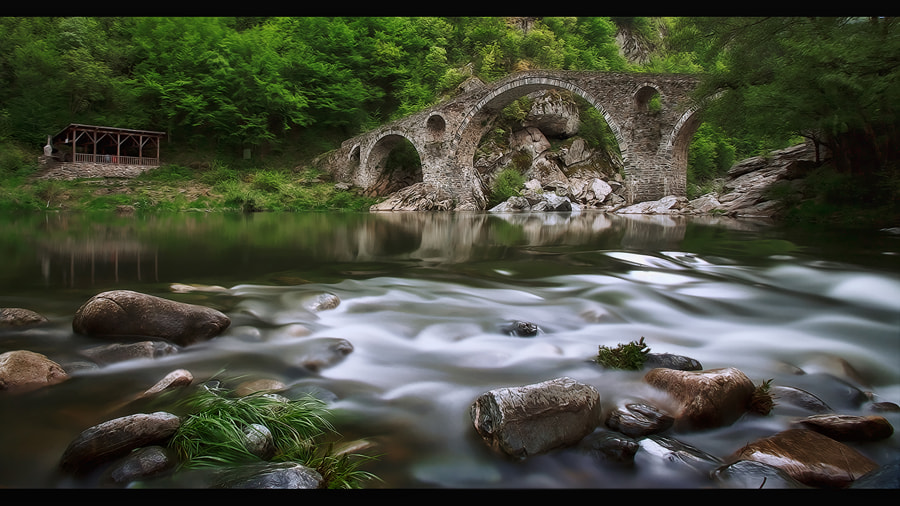 Photograph Devil's Bridge (Dyavolski Most) by Necat ÇETİN on 500px