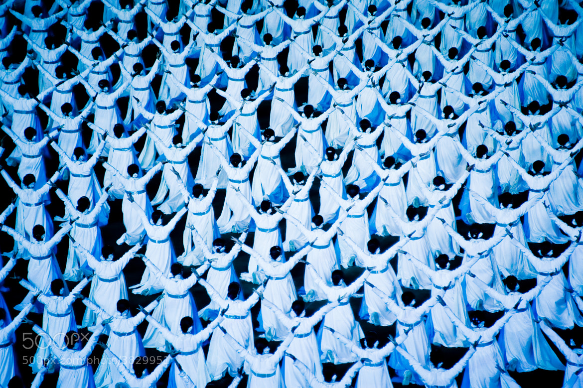 Photograph The Mass Games - North Korea by Sam Gellman on 500px