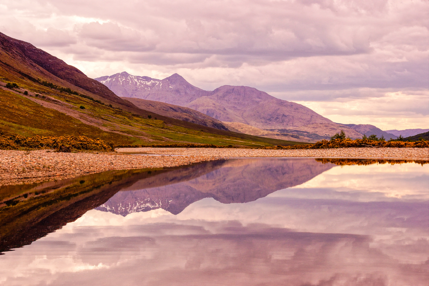 Photograph Loch Etive Reflections by RALPH  on 500px