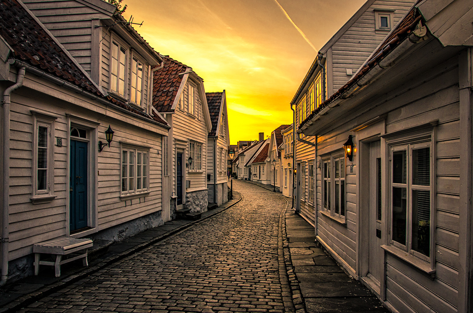 Photograph Sunset in Stavanger by Jing-Ren Zhou on 500px