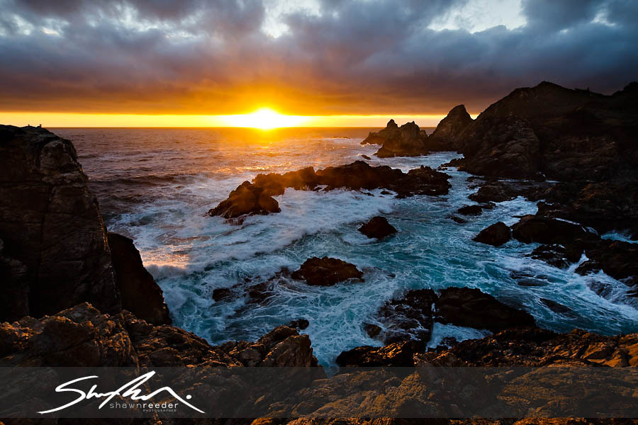 Photograph Big Sur Rocky Point Sunset by Shawn Reeder on 500px